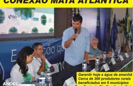 Valença ganha da Cedae mudas para reflorestamento Doação será destinada a recuperação da Mata Atlântica