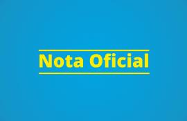 Nota Oficial sobre a Operação Furna da Onça