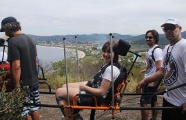 Parque Estadual da Serra da Tiririca recebe o Projeto de inclusão Montanha Para Todos
