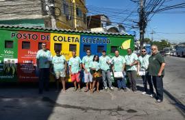 Ambiente Solidário chega á comunidade Jorge Turco, na Zona Norte do Rio
