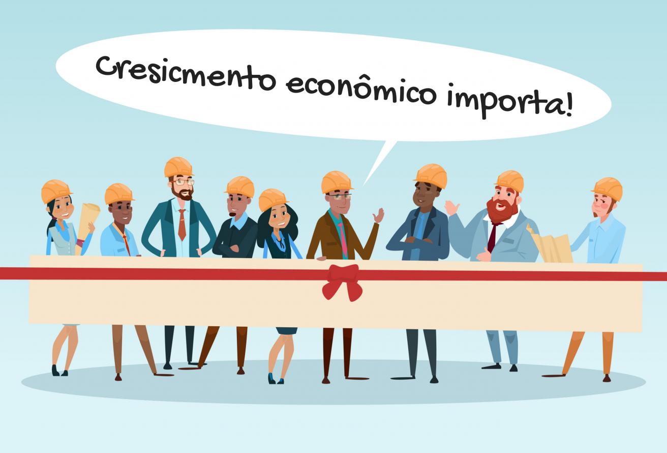 Crescimento econômico: meu outro foco