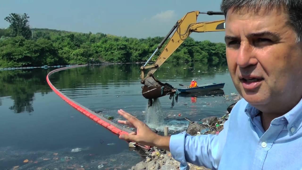 Sistema de gestão de lixo flutuante ajuda Rio a enfrentar as tempestades do Verão