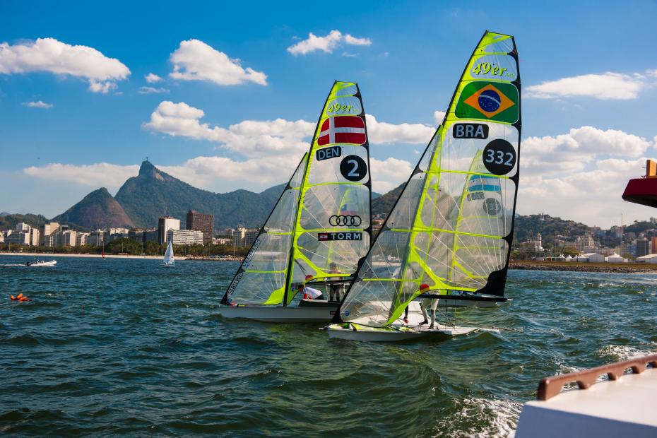 Evento-teste da Vela muda cenário da Baía de Guanabara com a proximidade das Olimpíadas 2016