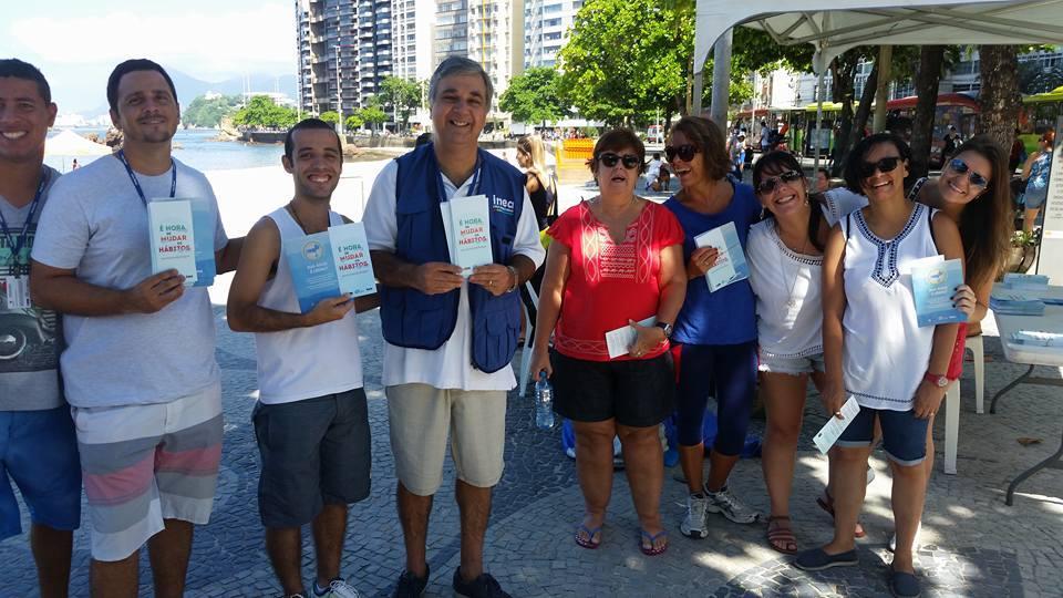 Ações de educação ambiental mobilizam Niterói pelo Dia Mundial da Água