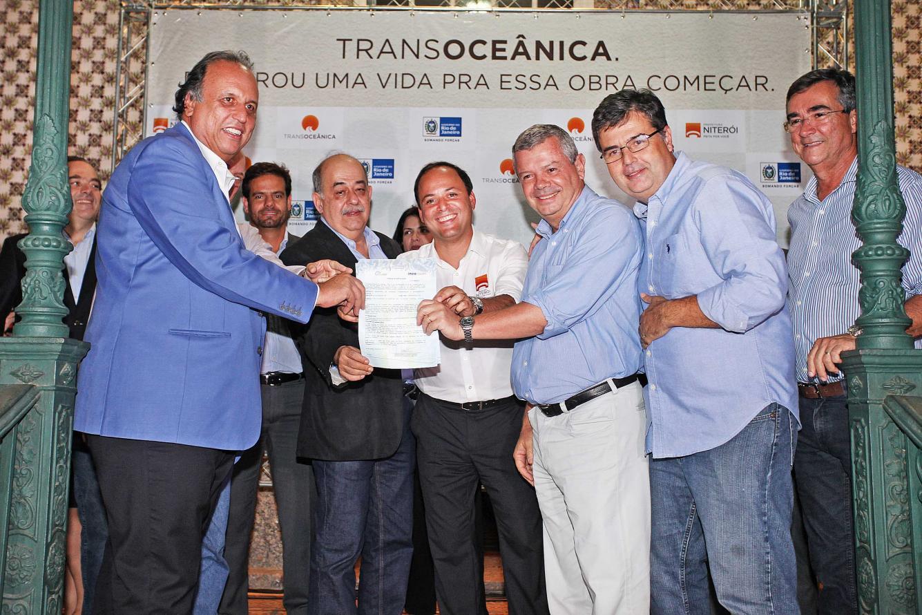 Inea concede licença ambiental para a TransOceânica, em Niterói