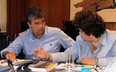 Secretário André Corrêa recebe ministra Izabela Teixeira, do Meio Ambiente