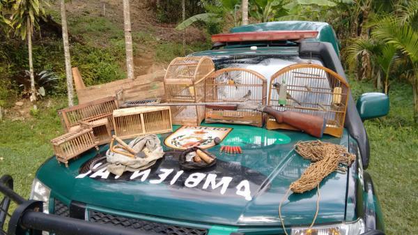 Unidade de Policiamento Ambiental do Desengano reprime caça predatória