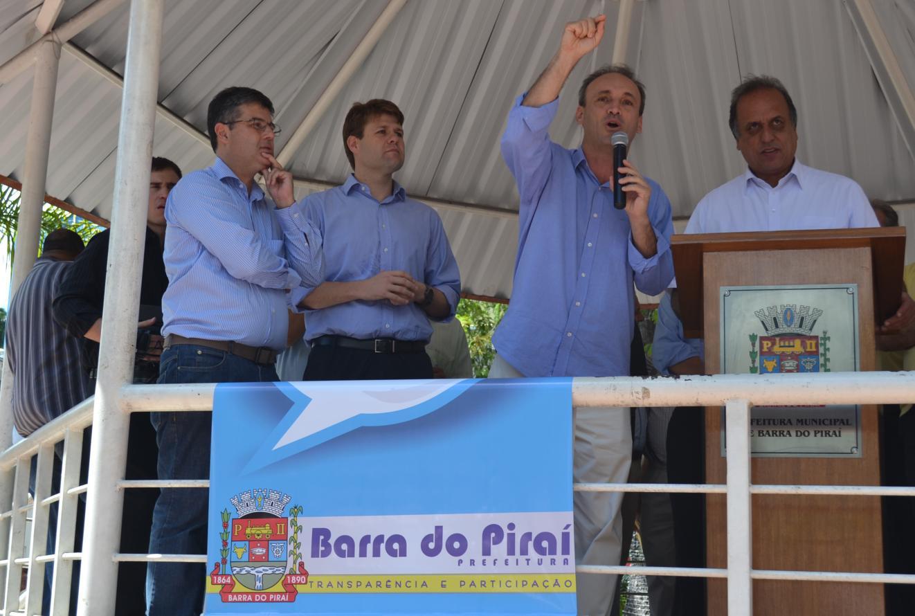 Deputado André Corrêa anuncia investimentos para Barra do Piraí