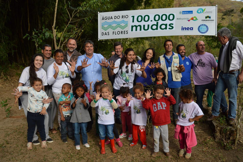 Projeto garante oferta de água para 50 mil pessoas no Médio Paraíba