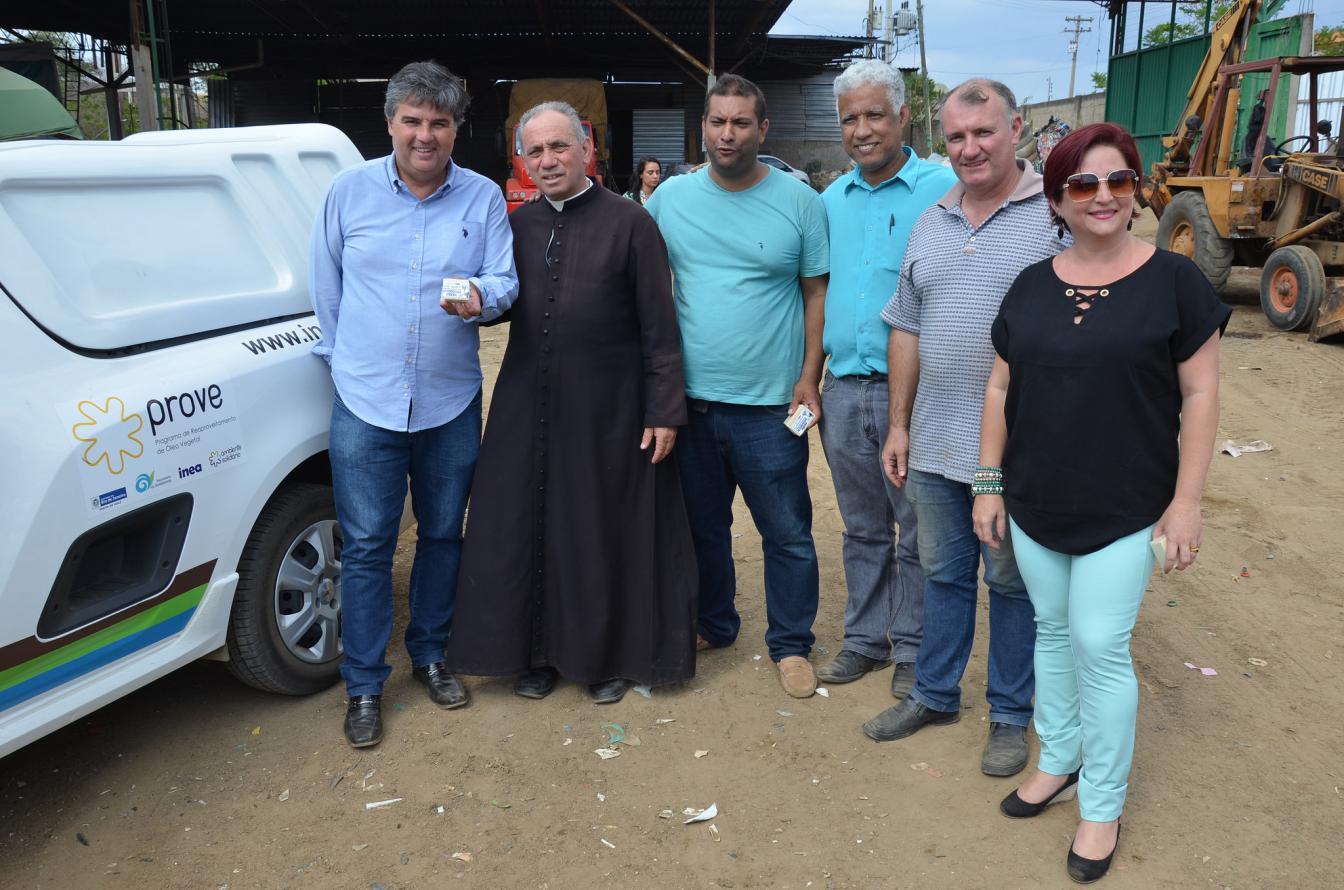 SECRETARIA DO AMBIENTE DE ITAPERUNA RECEBE O DEPUTADO ESTADUAL ANDRÉ CORRÊA