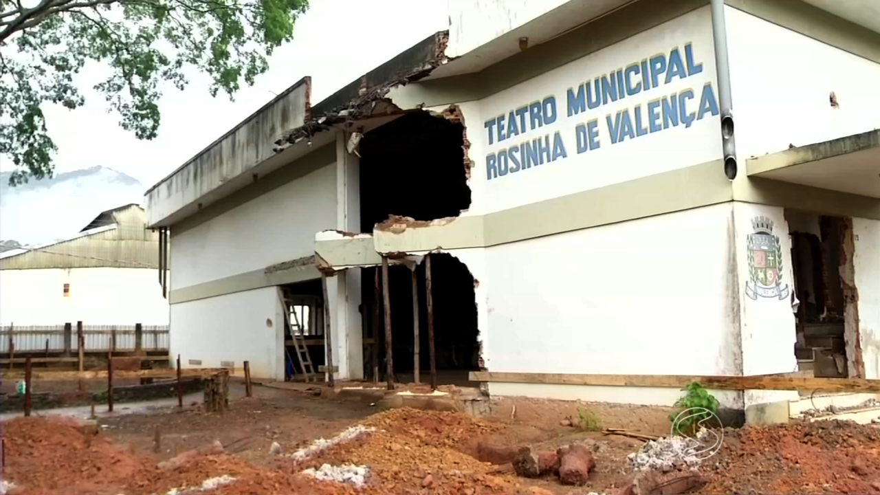 Obras do Teatro Rosinha de Valença são retomadas