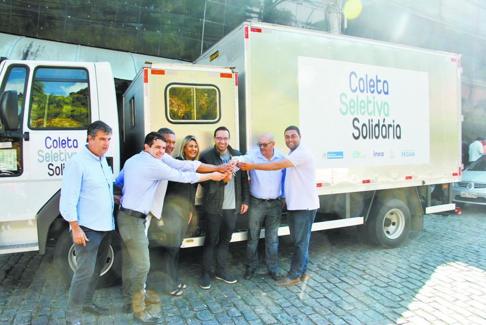 Em Vassouras, Coleta Seletiva Solidária vai começar por Massambará