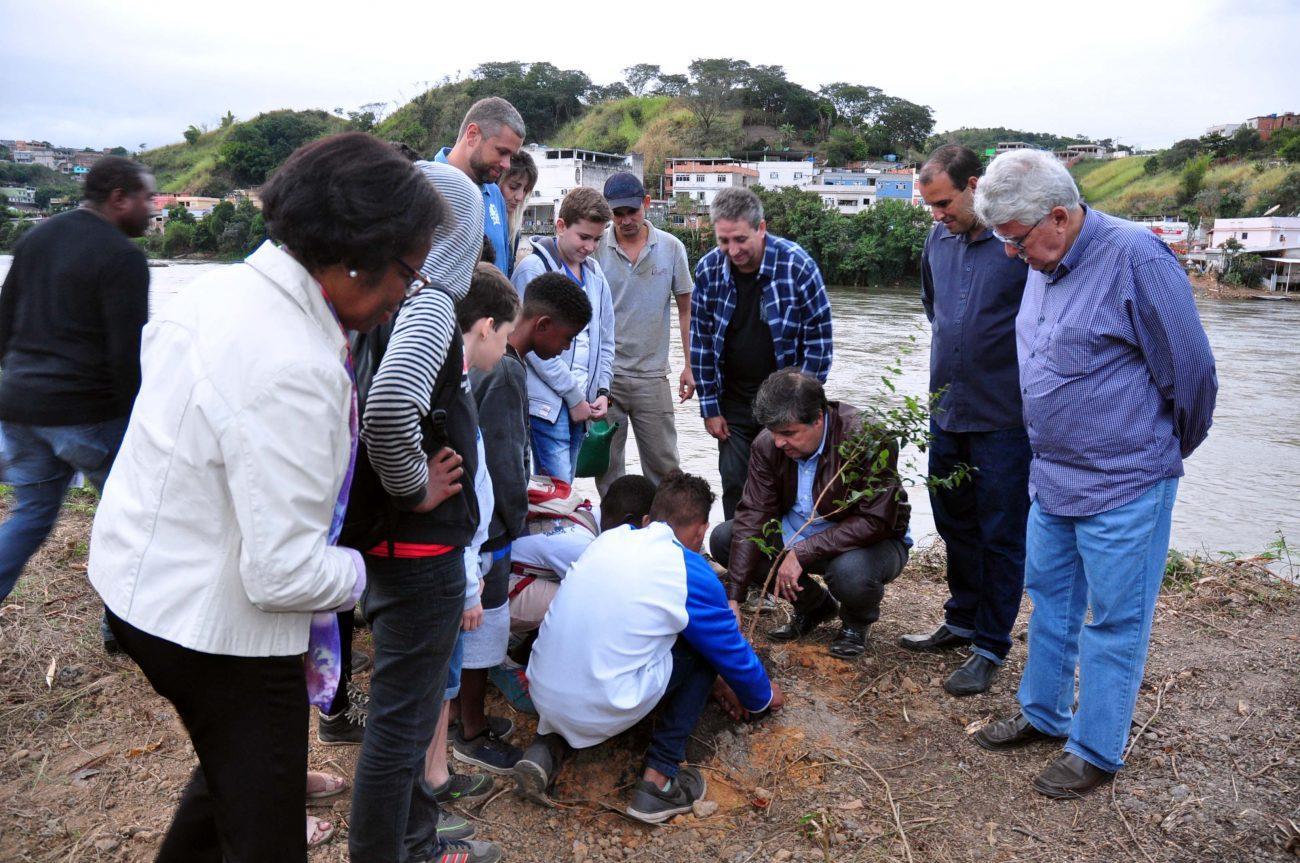 Projeto de reflorestamento é lançado no Parque da Cidade, em Barra Mansa