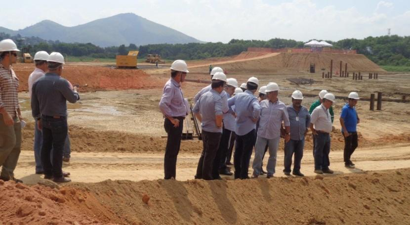 El Secretario de Medio Ambiente de Brasil visita las obras de saneamiento y la EDAR de Alcantara