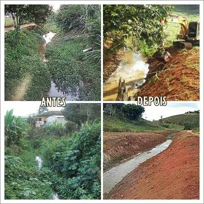 Programa Limpa Rio Melhora o Ambiente Porciunculense