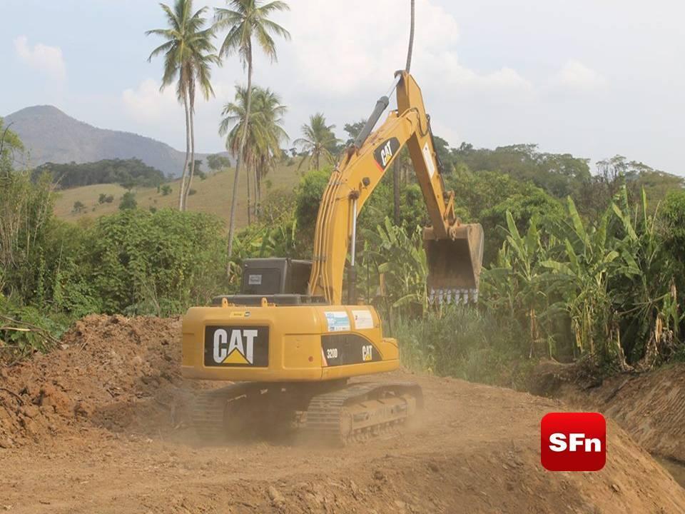 Programa Limpa Rio recupera leitos de rios em Santo Antônio de Pádua