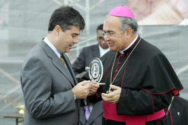 André Corrêa participa de campanha pelo Cristo Redentor