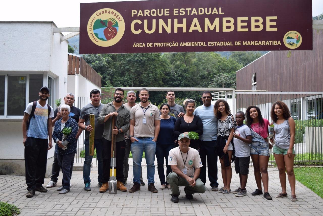 Parque Estadual Cunhambebe promove atividade com os condutores de visitantes que atuam na unidade de conservação