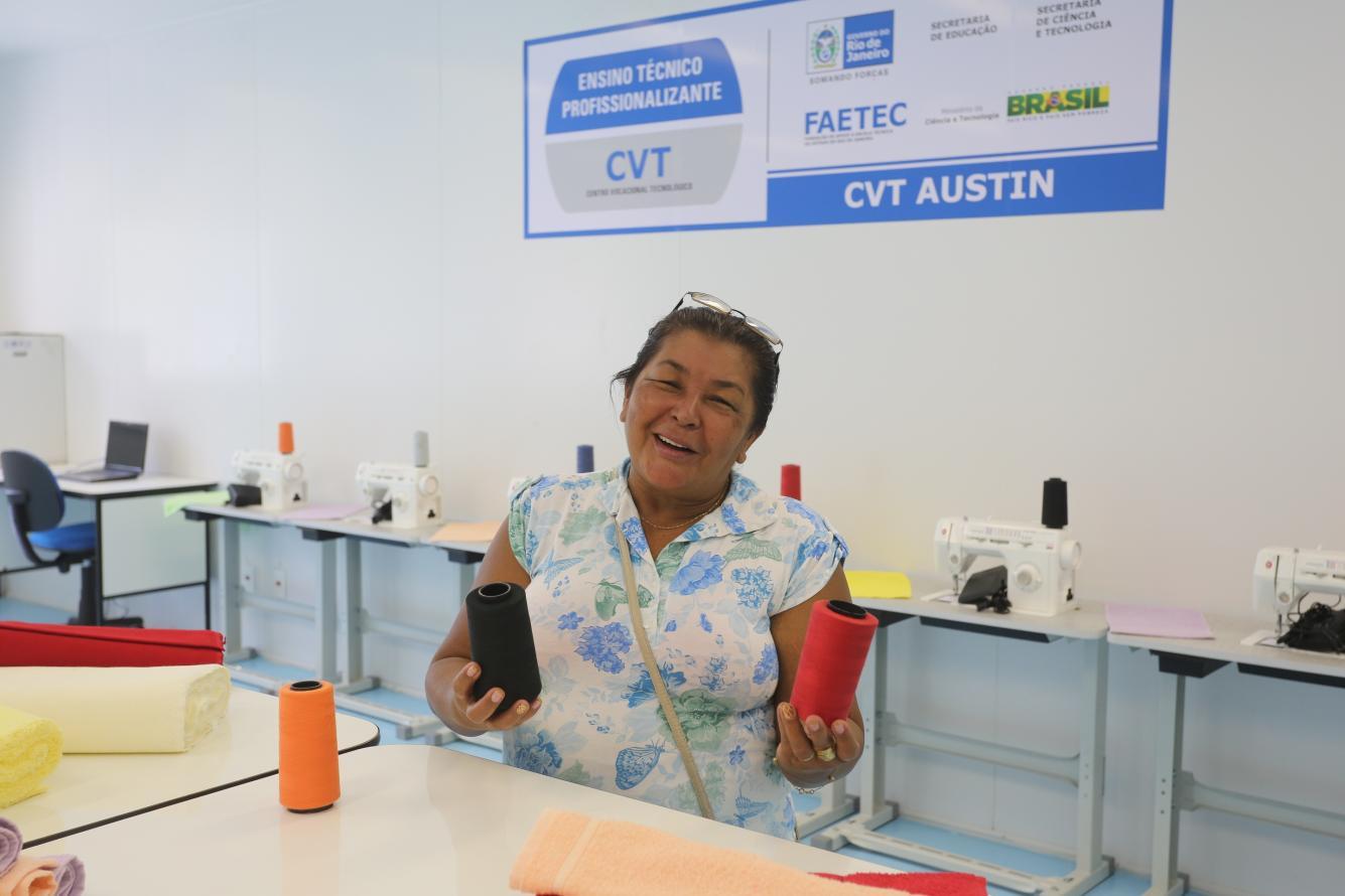 CVTs oferecem 8.820 vagas para qualificação