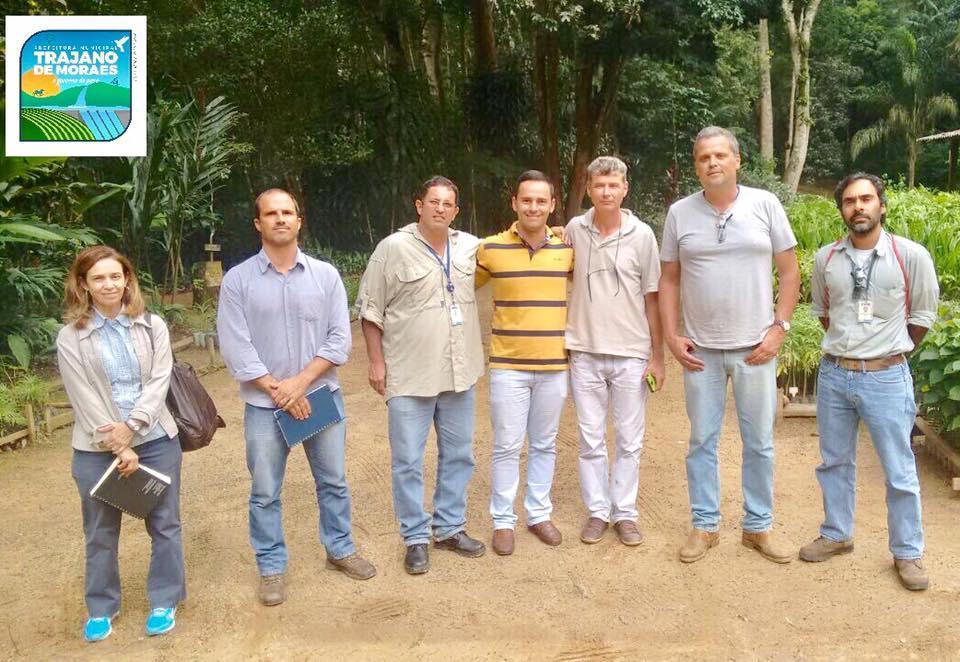 Equipe do INEA apresenta projeto para desenvolvimento da Floresta Estadual José Zago