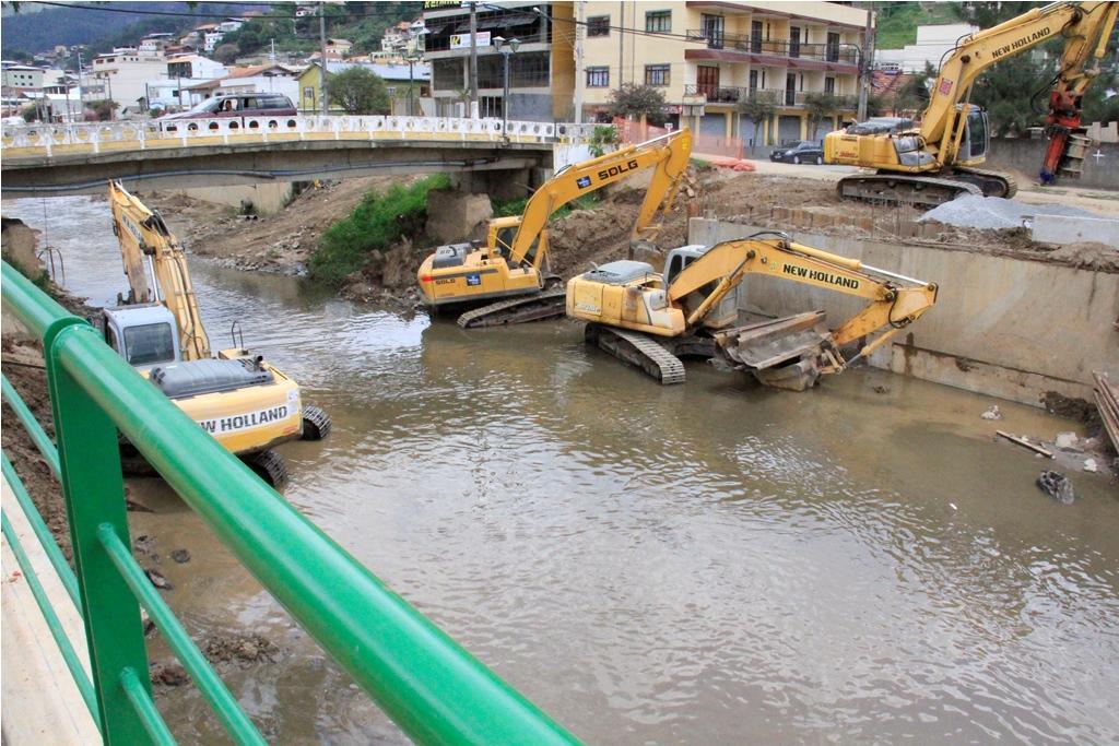 Obras emergenciais ganham destaque em Nova Friburgo