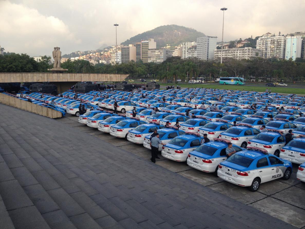 Polícias Civil e Militar ganham oito veículos táticos blindados