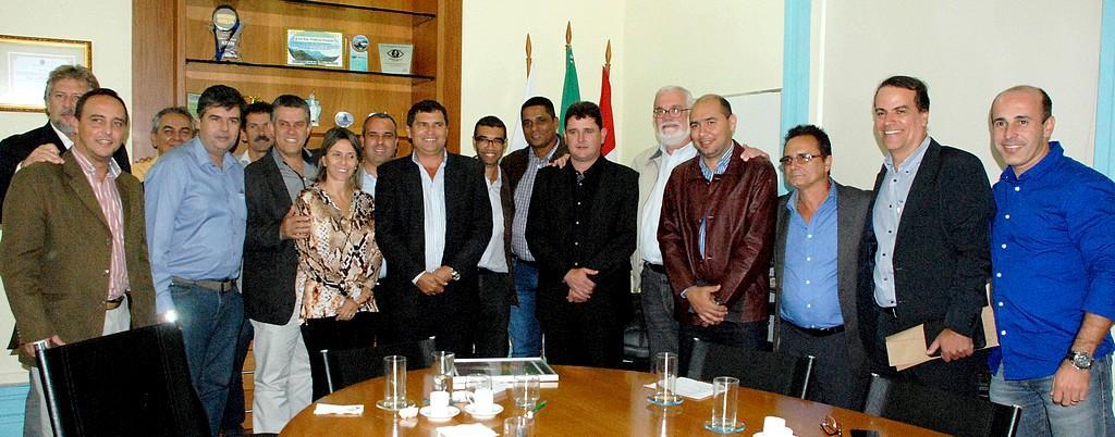 Deputado André Corrêa se reúne com prefeitos do Conleste em Teresópolis