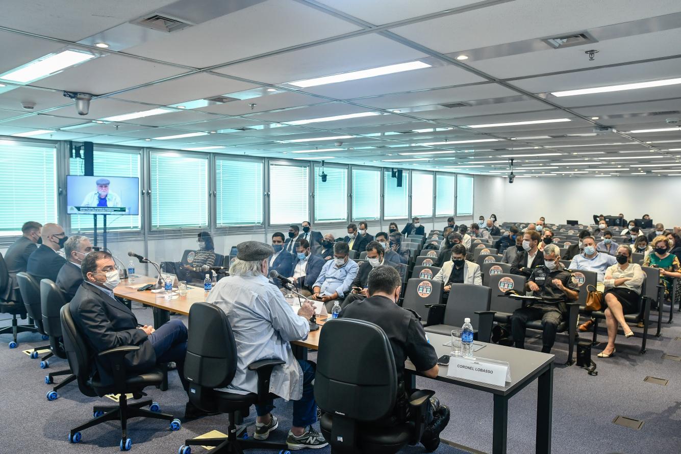 Reunião na ALERJ propõe soluções para combate ao roubo de cabos de energia e telefonia