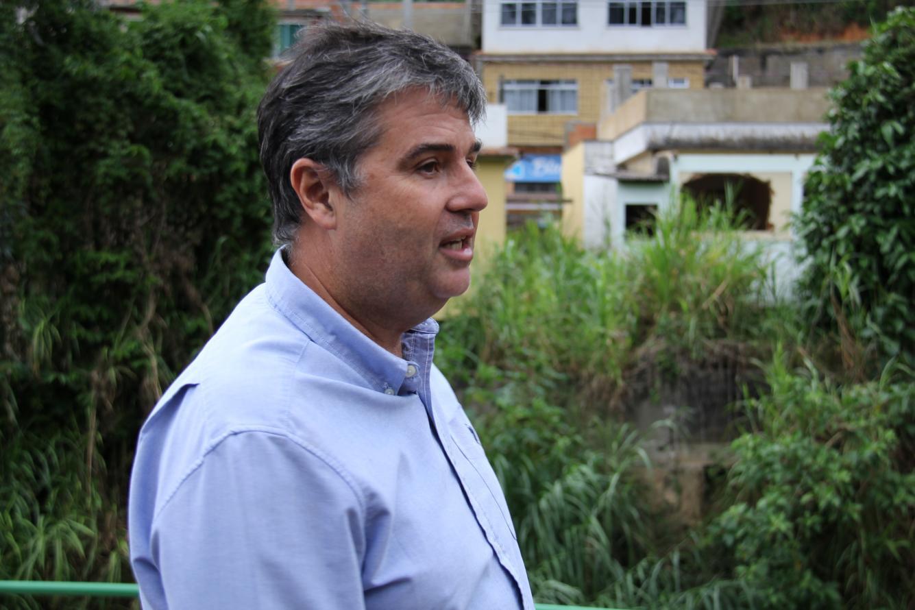 André Corrêa fala que obras no Rio Bengala devem ser concluídas este ano