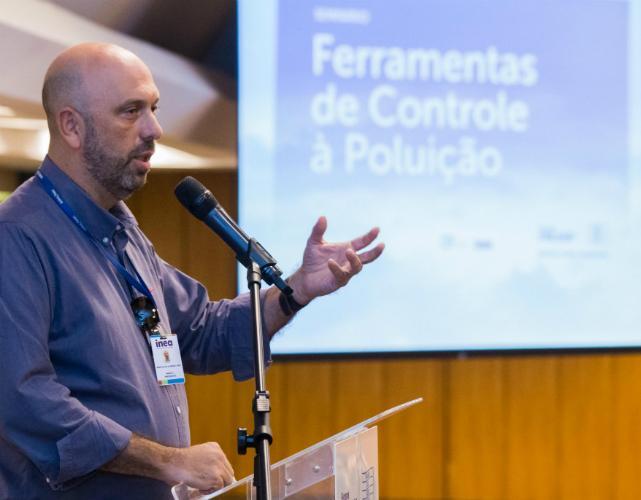 Marcus Lima, presidente do Inea, reiterou a importância desta parceria com a indústria fluminense | Foto: Vinicius Magalhães