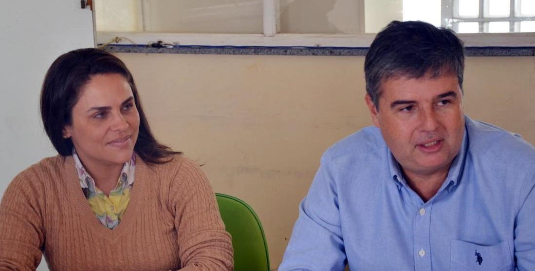 Prefeita de Iguaba Grande recebe visita do Deputado Estadual André Corrêa