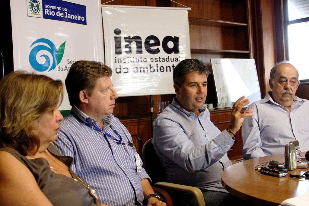 Secretário do Ambiente anuncia política de reuso de água para indústrias do Estado do Rio