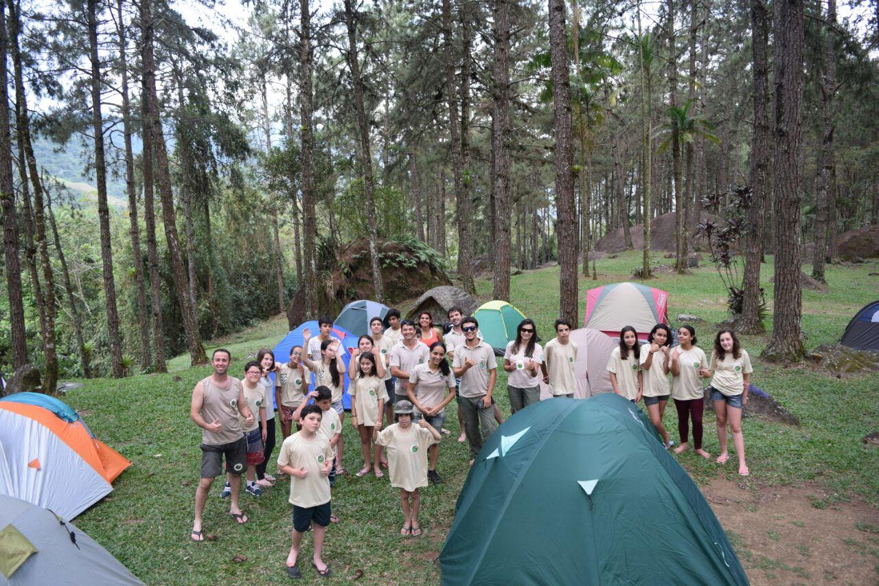 Acampamento mirim ensina técnicas de camping e excursionismo no Parque Estadual Pedra Selada, região Sul Fluminense