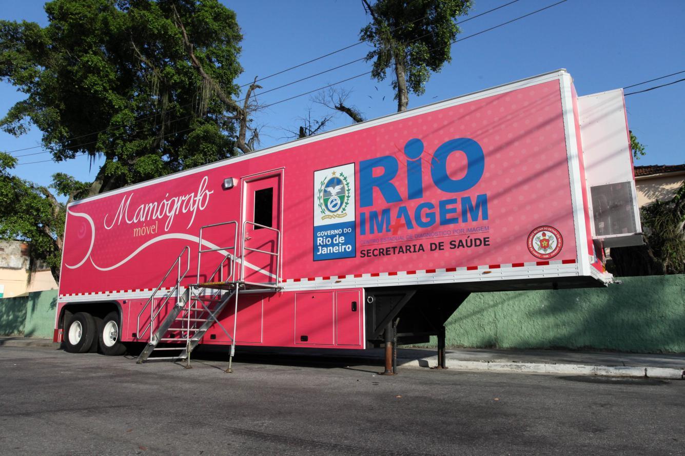 Mamógrafo Móvel do Governo do Rio começa a realizar exames em Niterói