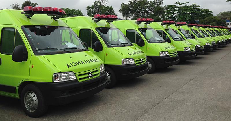 André Corrêa participa de entrega de 153 novas ambulâncias às prefeituras do estado