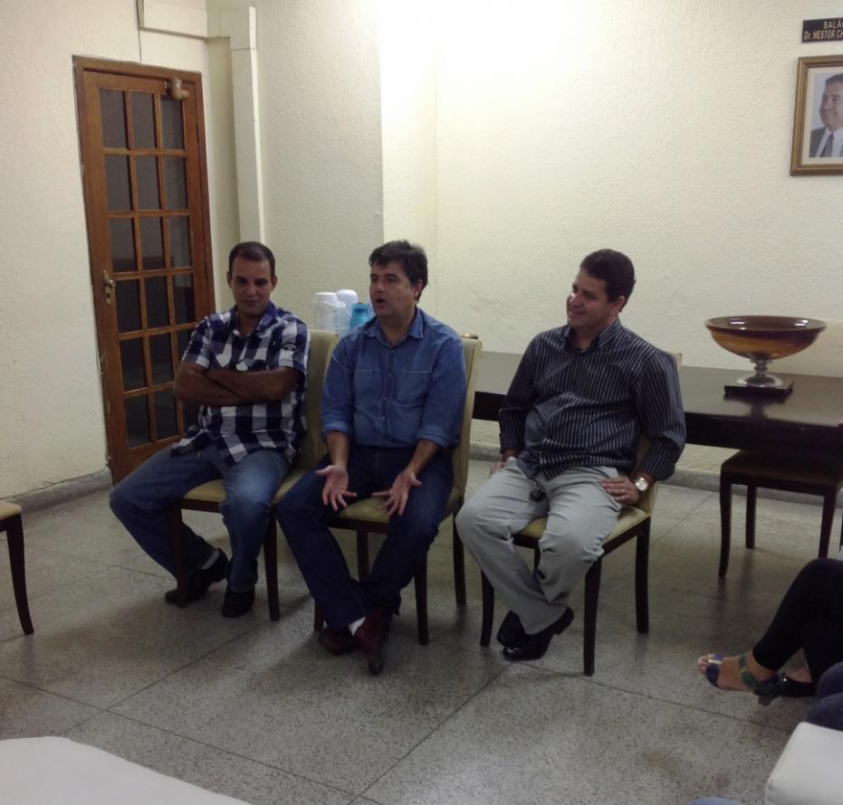 André Corrêa é recebido por vereadores em Barra Mansa