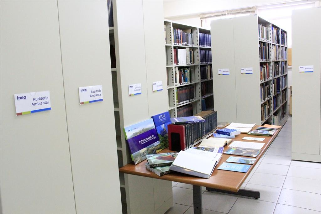 Repaginada e com serviços de internet, Biblioteca Central do Inea é reinaugurada