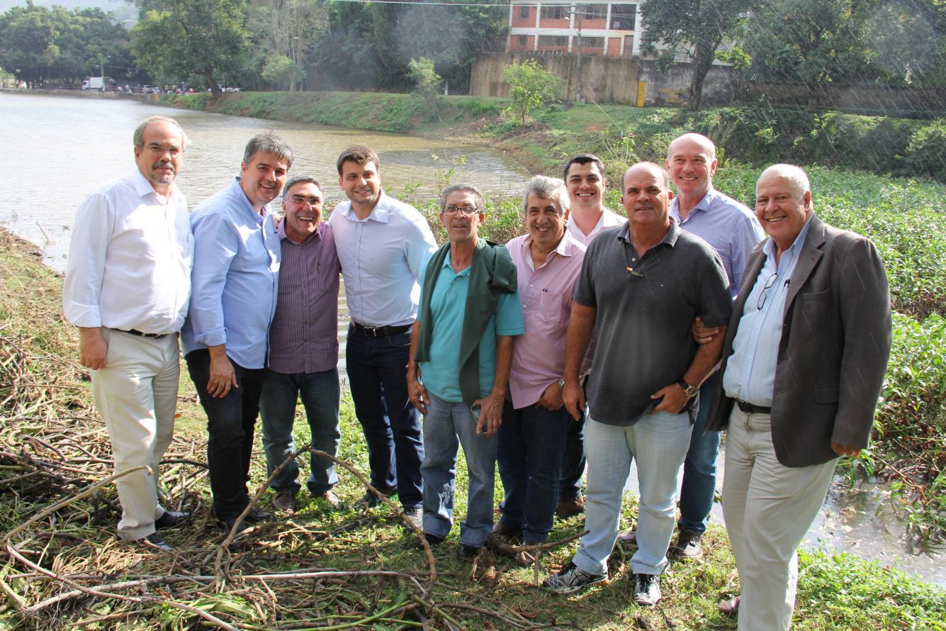 Limpeza do Lago de Nogueira será realizada com o apoio da Prefeitura de Petrópolis