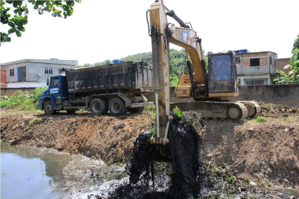 Nova Iguaçu se beneficia com obras do INEA