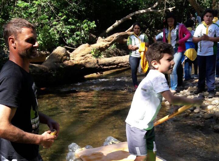 Parque Estadual Cunhambebe promove atividades de educação ambiental para o público infantil