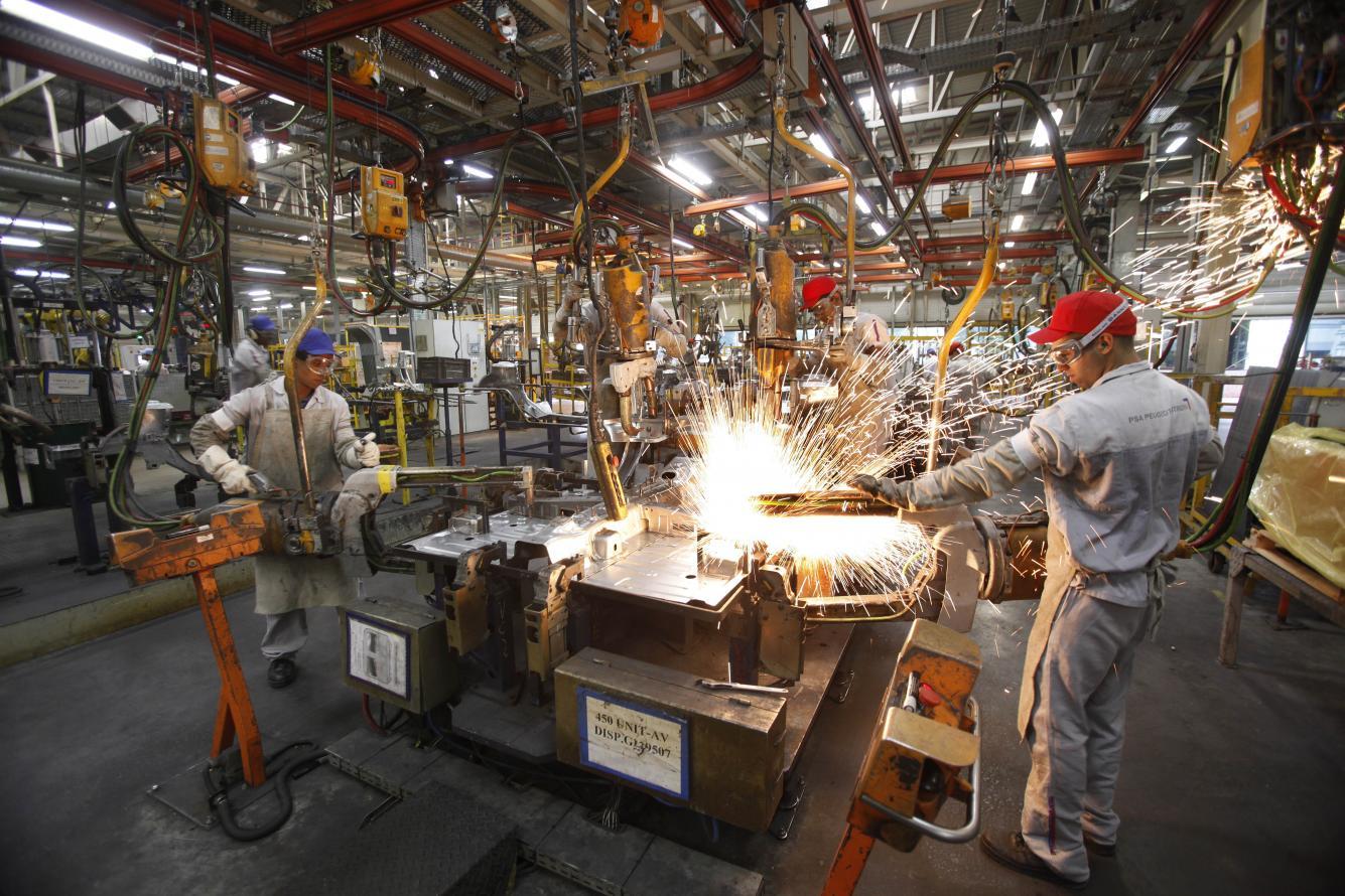 Produção industrial fluminense registra crescimento