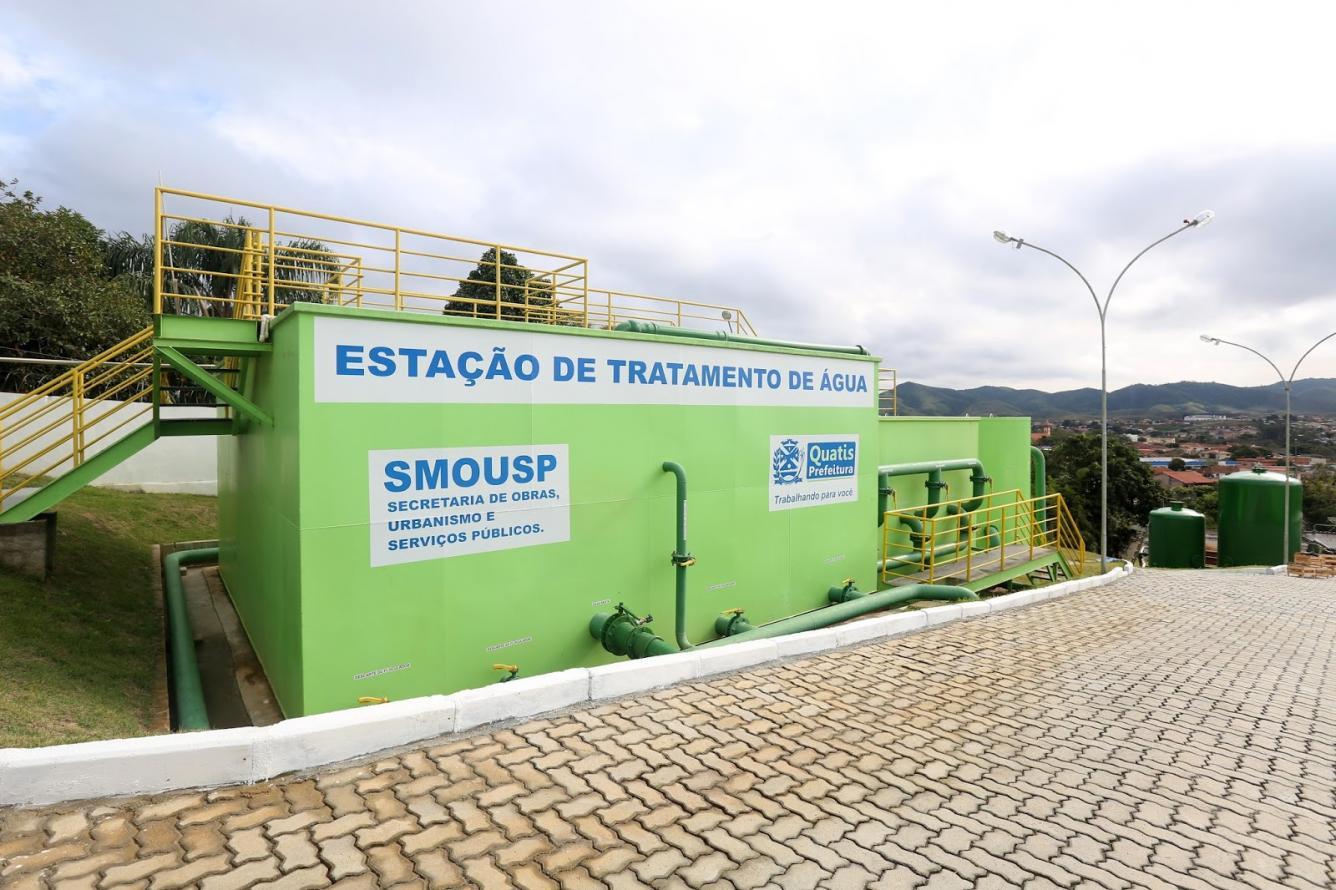 Estado inaugura estação de tratamento de água que vai atender 13 mil pessoas em Quatis