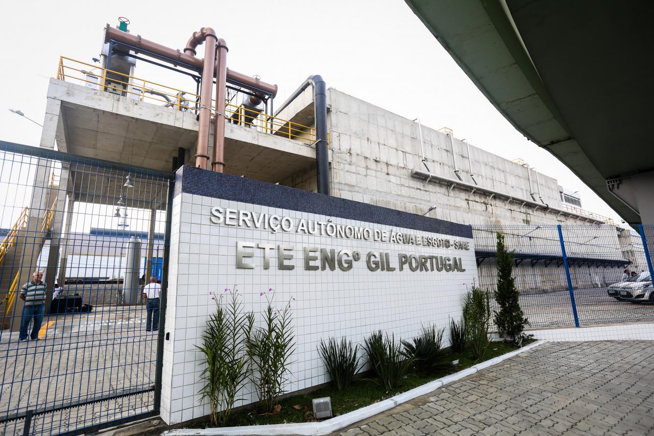 Volta Redonda ganha Estação de Tratamento de Esgoto (ETE) que vai beneficiar 75 mil moradores de 21 bairros