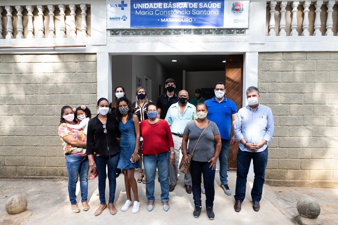 Vassouras inaugura nova unidade de saúde no bairro Matadouro
